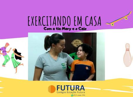 Treinamento com Circuito -Exercitando em Casa Educação Infantil