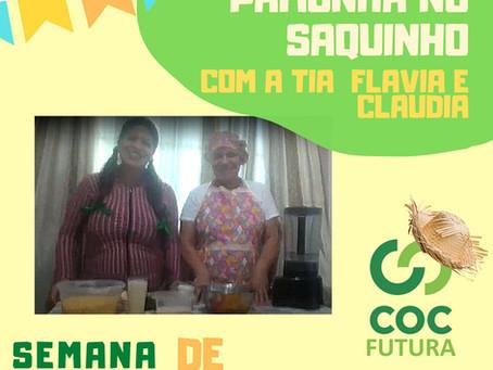 Receita Junina: Pamonha no saquinho com a tia Flavia e Claudia