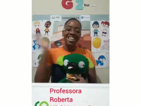 Recado da Profª Roberta