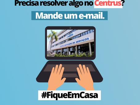 Atendimento da Prefeitura por email Centrus - Centro unificado da Prefeitura de Suzano
