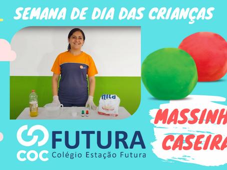 MASSINHA CASEIRA Dia das crianças