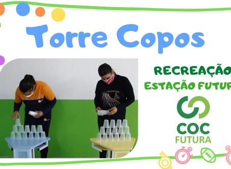 Torre Copos recreação Educação Infantil