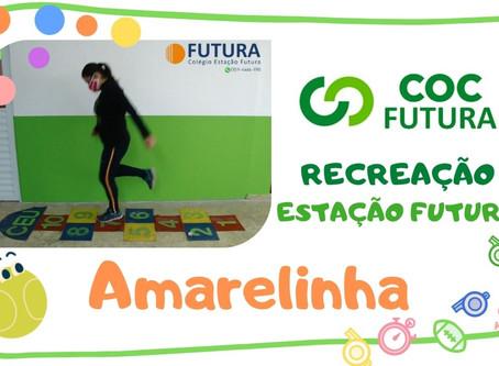 Amarelinha Recreação Estação Futura Educação Infantil