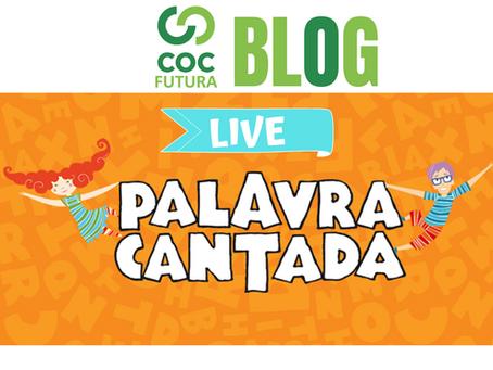 Live Palavra Cantada em parceria com a Pampers