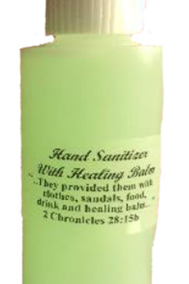 Hand Sanitizer with Healing Balm