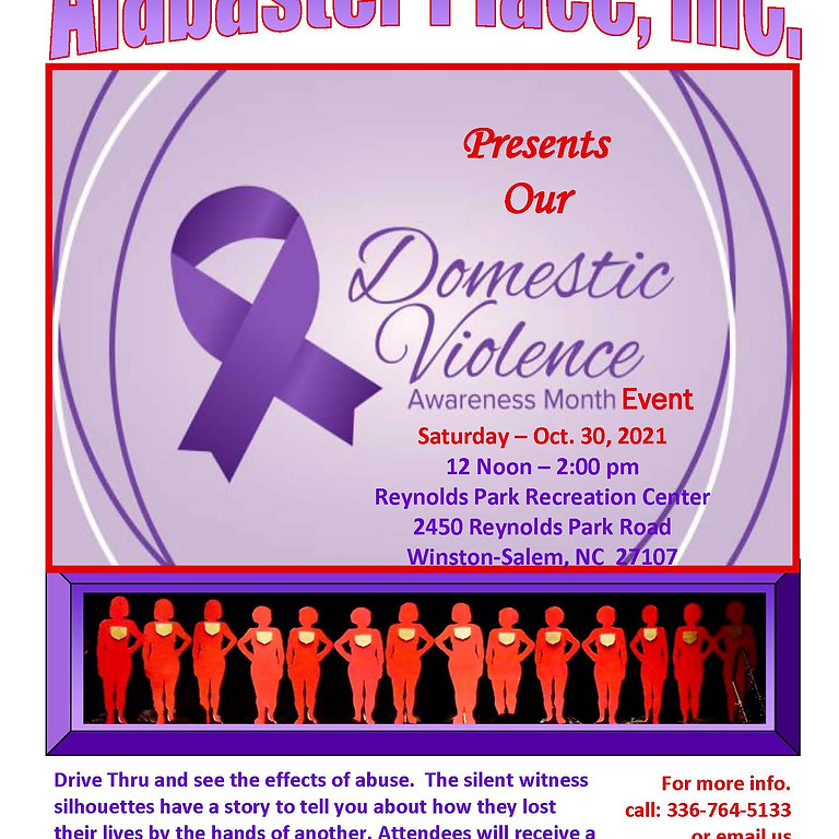 2021 Domestic Violence Awareness Month Event