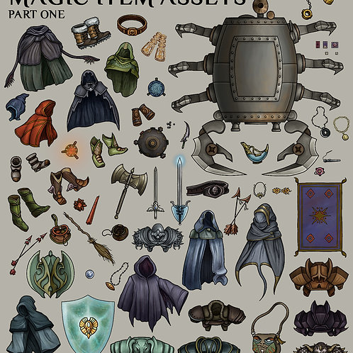Magic Item Assets pt.1