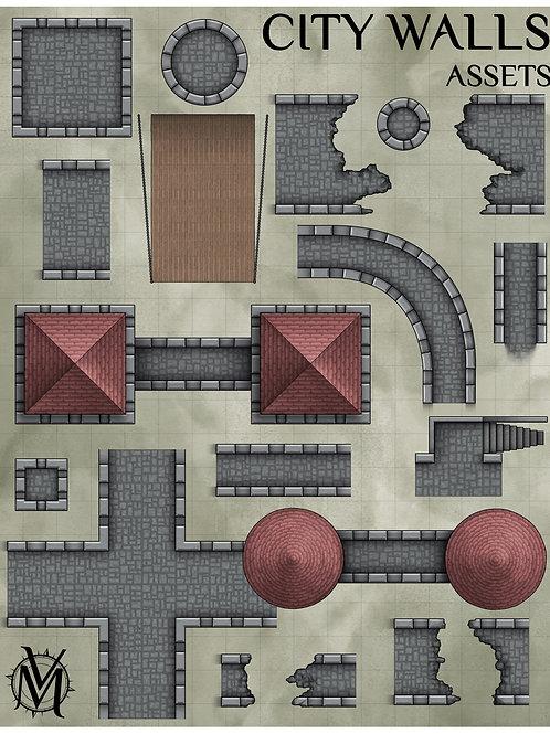 City Walls Assets