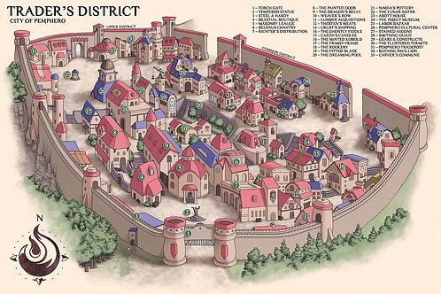 Pemphero: Trader's District