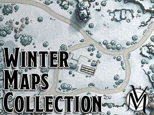 Winter Maps Collection