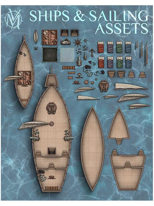 Ships & Sailing Assets