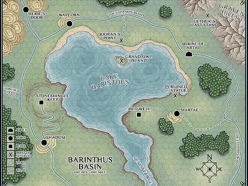 Barinthus Basin