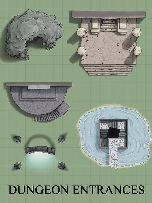Dungeon Entrances Assets