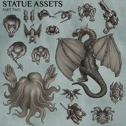 Statue Assets pt.2