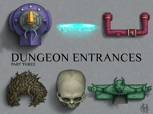 Dungeon Entrance Assets pt.3