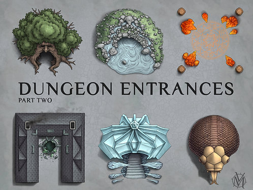 Dungeon Entrance Assets pt.2