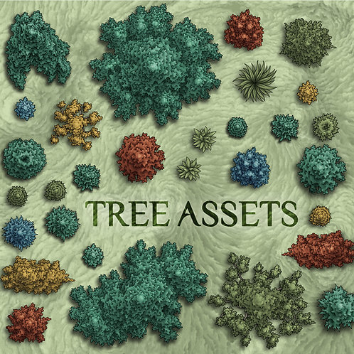 Tree Assets pt.1