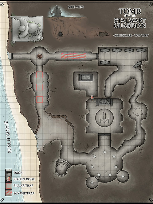 Tomb of the Stalwart Guardian