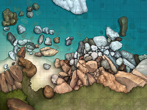 d&d beach map