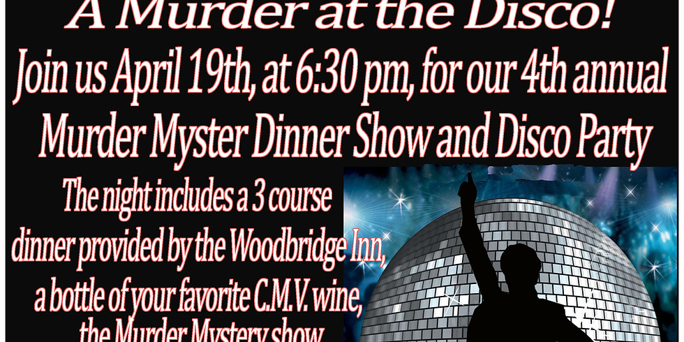 Murder Mystery Dinner at the Disco!