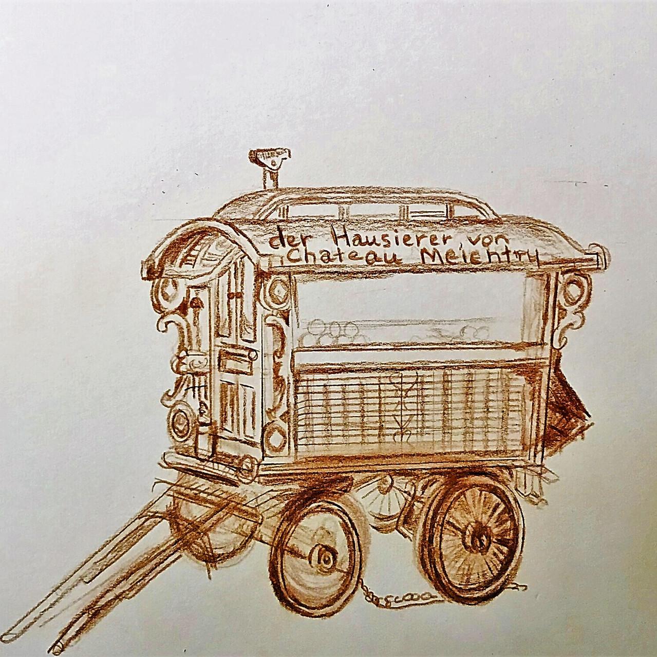 Jan Dappen's Artwork for The Peddler