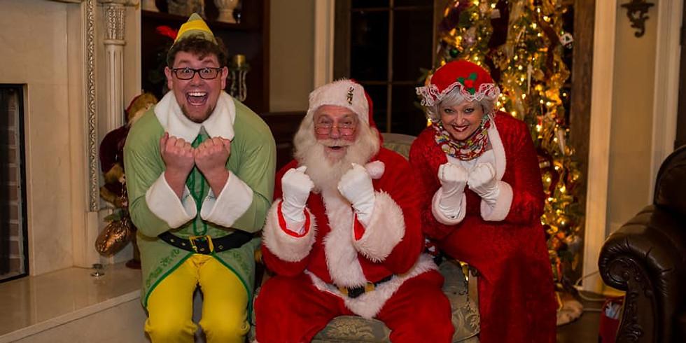 Santa in the Vines!!
