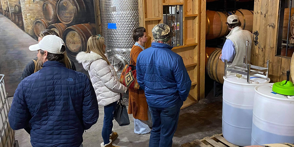 Winery Tour - Saturday, May 22nd
