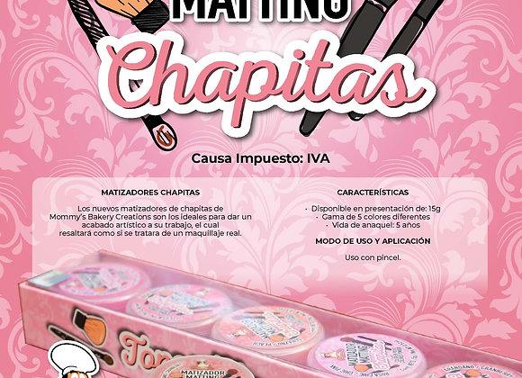 Matizadores Chapitas Ma Baker  5gr