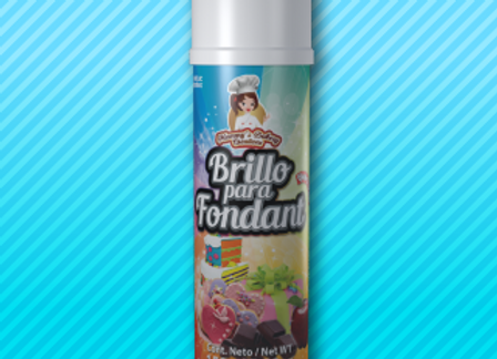 Brillo para fondant en spray 150 gr