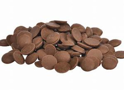 Carat cobertura de chocolate oscura