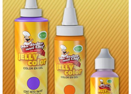 Jelly Color 10ml COLORES  ROJO A VIOLETA