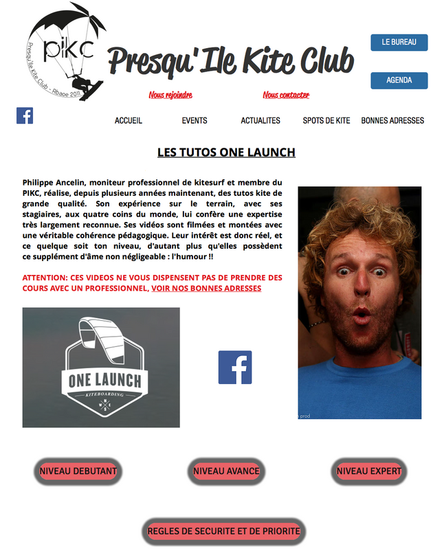 LES TUTOS ONE LAUNCH SUR PIKC.FR