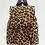 Thumbnail: Tiny Leopard Faux Fur Backpack