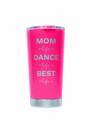 Mom Life Cup, Neon Pink
