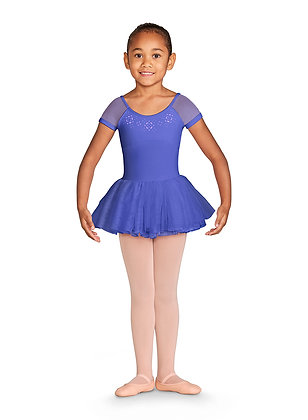 Bloch Cap Sleeve Leotard Iris