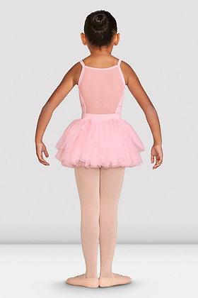 Girls Hattie Diamante Trim Tutu Pink