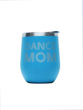Dance Mom Tumbler, Aqua