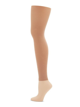 Capezio 1917 Footless Tight With Self Knit Waist Band