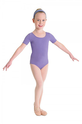 Bloch Cap Sleeve Leotard Lavender