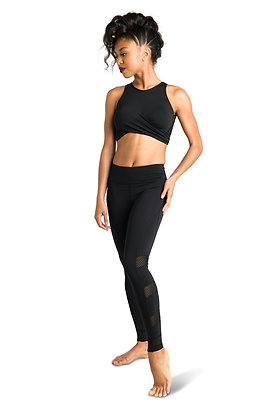 Danz N Motion Twist Front Mesh Top