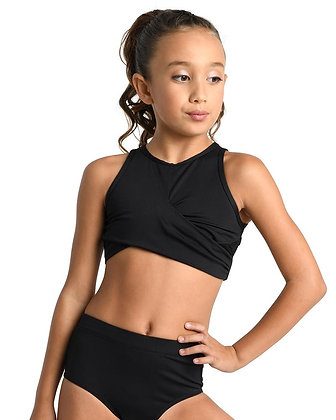 Danz N Motion Twisted Bra Top Child