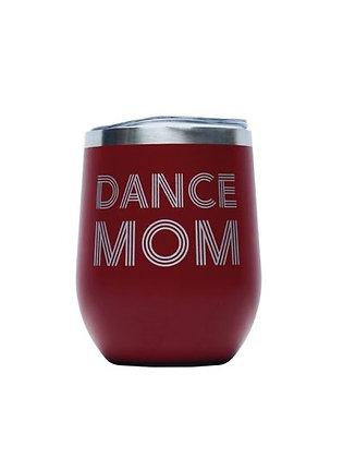 Dance Mom Tumbler,Red