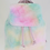 Thumbnail: Tiny Cotton Candy Faux Fur Back Pack
