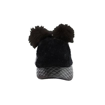 American Jewel Fur Pom Pom Cap