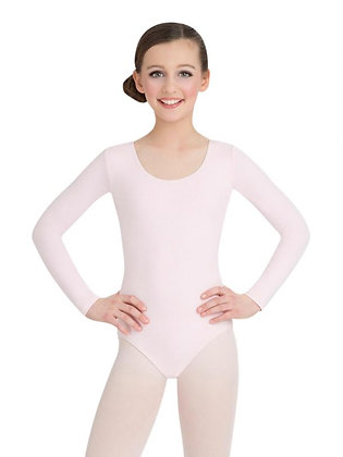 Capezio Long Sleeve Leotard Pink