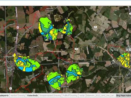 GIS Analysis of Overlapping Layers
