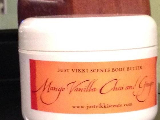 Mango-Vanilla Chai Body Butter