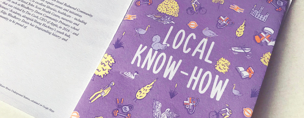 Local Know-How Map