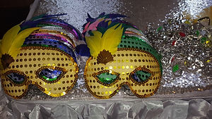 Bridal Shower Masquerade Masks Photo 3.j