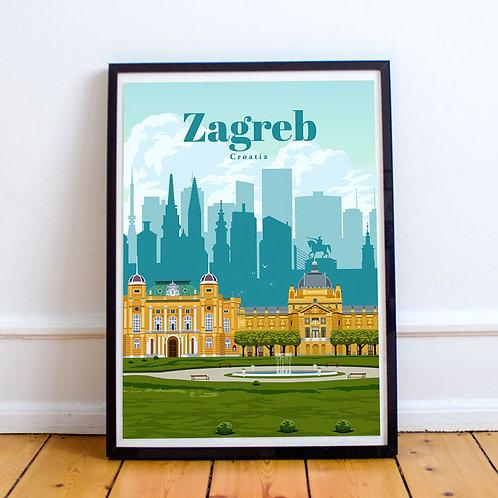 Zagreb Print